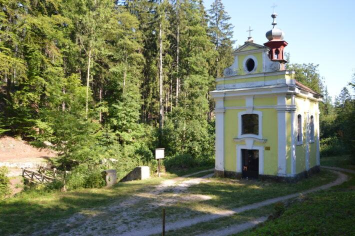 lázně Miletín - fotografie kaple